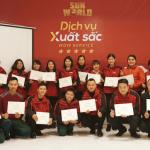 Tràn đầy năng lượng và cảm hứng với Wow Service - Dịch vụ xuất sắc cho Sun World - Thương hiệu vui chơi giải trí hàng đầu Việt Nam