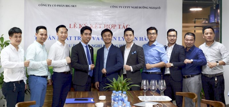 Big Sky ký kết hợp tác cùng Công ty Cổ phần phát triển nghỉ dưỡng Ngoại ô